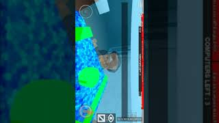Playing Roblox the world's most tense game