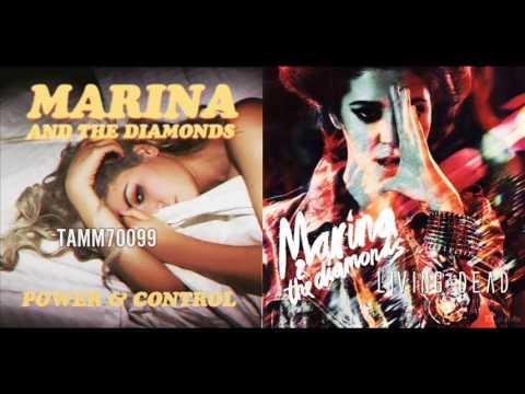 Marina and the Diamonds - Power & Control vs. Living Dead (Mashup)
