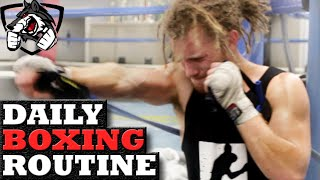 My Daily Boxing Routine Before a Fight