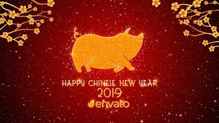 5 Awesome After Effects Templates Chinese New Year 2019 Year Of The Pig