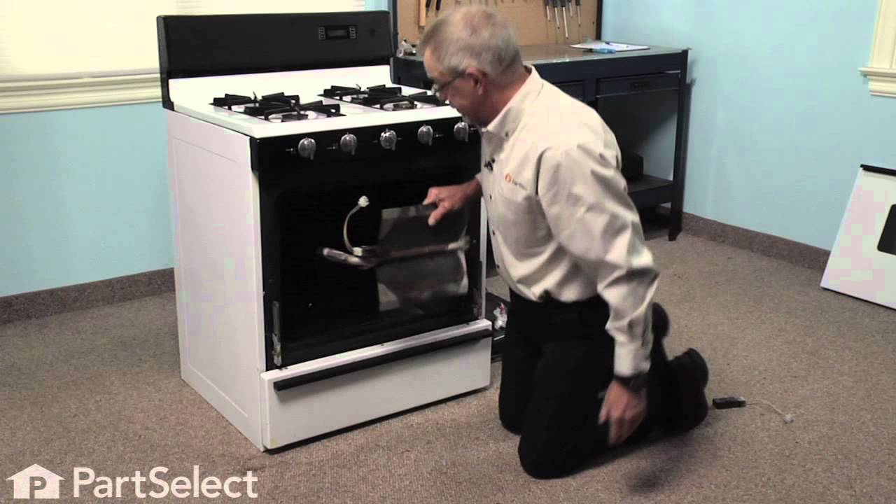 repair replacing the flat style oven igniter whirlpool part youtube