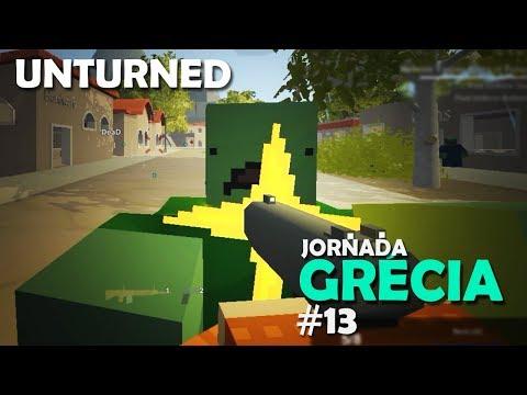 CERCADOS POR ZUMBIS NA CHUVA - JORNADA GRÉCIA | UNTURNED #13