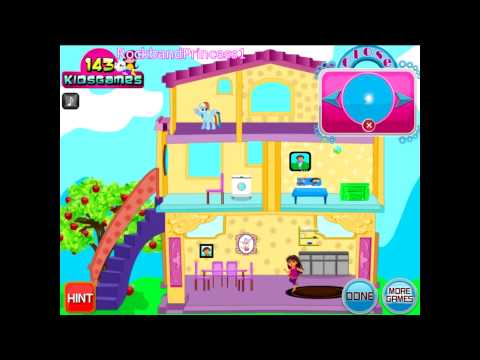 Dora The Explorer Online Games - Dora Dress Up House Game