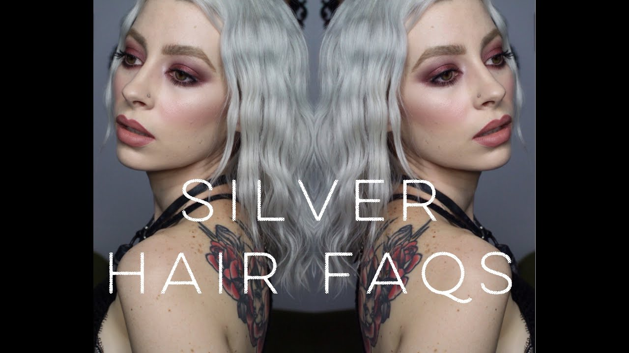 Platinum/ Silver Hair FAQs | Colour, Upkeep & Products to keep it healthy &  silver!