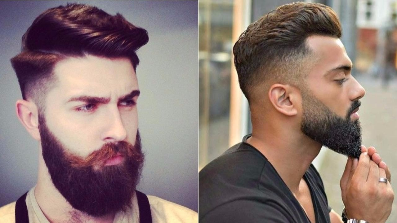 Top Fashionable Hairstyles For Men 2017 2018 Best Trendy: Cool & Stylish Beard Styles For Men 2017 -New Best Beard