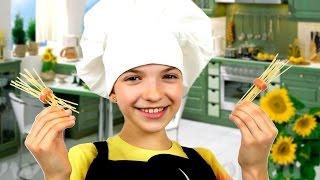 Лохматые СОСИСКИ от подружки Светы! Видео рецепт на каждый день! Игры готовить для девочек.(Необычный Видео рецепт на каждый день от лучшей подружки Светы! Играем и учимся готовить! Света любит все..., 2016-04-22T13:36:30.000Z)