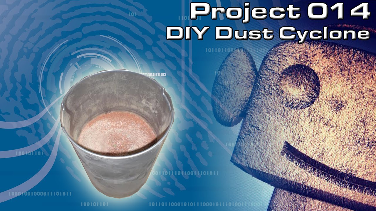 RCNC Projects 14 : Dust Cyclone add on for my DIY CNC Router