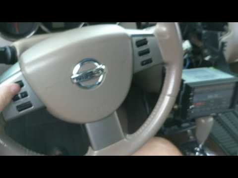 2006 Nissan Altima Steering Wheel Button Connections With Android Head Unit