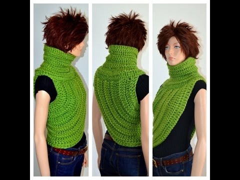 How To Crochet The Katniss Inspired Cowl Youtube