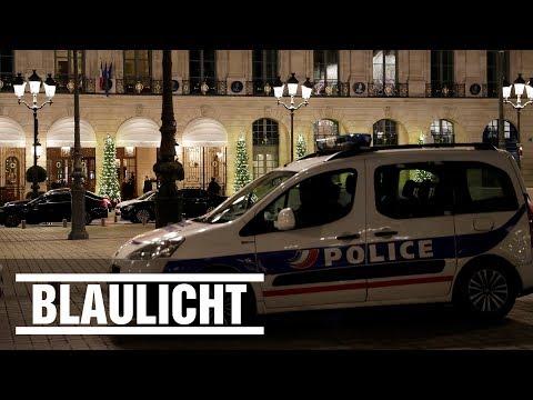 Millionen-Raub im Ritz - Axt-Räuber stürmen Pariser Luxushotel und klauen Schmuck