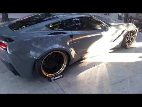 877-544-8473 20 Inch Rotiform Custom Rims Corvette C7 Forged 3 Piece Wheels Free Shipping