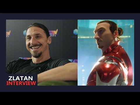 Zlatan Ibrahimovic interview - Gaming, Zlatan Legends and his favourite gadget
