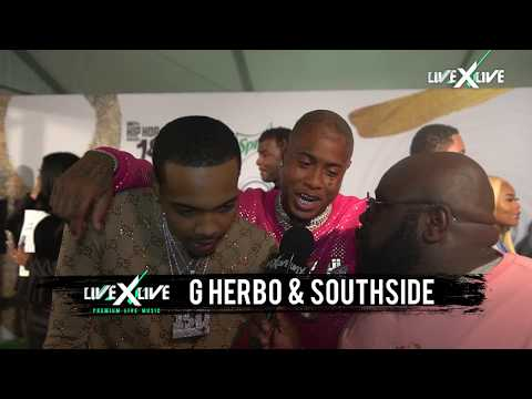 G Herbo And Southside Salute Lil Baby And Gunna At BET Hip-Hop Awards