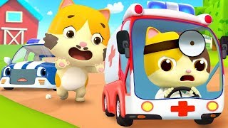 Go! Doctor and Ambulance | Police Cartoon, Doctor Cartoon | Nursery Rhymes | Kids Songs | BabyBus