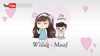 Walag - Maaf  Lirik Video Animasi