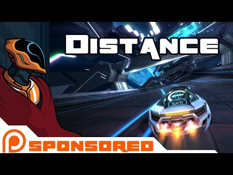 Let's Play Distance [Patreon Sponsored] - Fast Cars Fry My Brain!