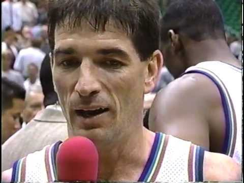 John Stockton 24 pts & 8 ast -