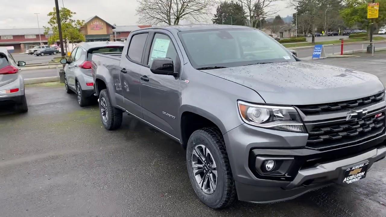 Brand New Chevy Colorado At Auburn Chevrolet Youtube