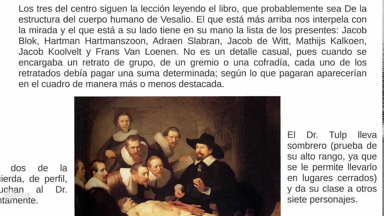 Excepcional Lección De Anatomía De Rembrandt Foto - Imágenes de ...