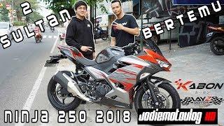 Video KETIKA 2 SULTAN BERTEMU! JODIE MOTOVLOG HD FT LAYZ MOTOR KAWASAKI NINJA 250 2018 download MP3, 3GP, MP4, WEBM, AVI, FLV Juli 2018
