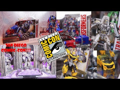 TRANSFORMERS THE LAST KNIGHT - EVENTO del San Diego Comic-Con(SDCC) nuevas miradas a Las FIGURAS!!