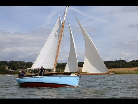 My Classic Boat.  Plymouth Hooker,  Spinaway. 1889