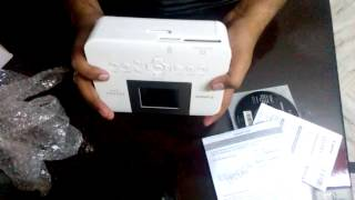 Canon SELPHY CP1000 Urgent Printer Unboxing And Review