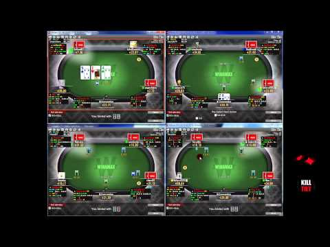 Cash Game Poker - 4 Tables en NL20 (0.10/0.20€)