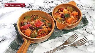 Gulasz warzywny z  papryką i soczewicą (w stylu meksykańskim) :: Skutecznie.Tv [HD]