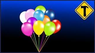 видео Как сделать воздушный шарик без гелия?