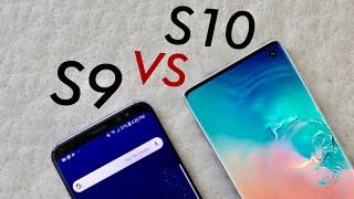 Samsung Galaxy S10 Vs Galaxy S9! (Quick Comparison) (Impressions)