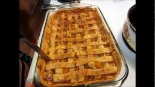 Cooking With Nikki- Peach Cobbler
