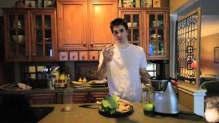 Reduce Inflammation - Raw Vegetable Juice (turmeric, Ginger, Greens)