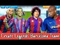 How To Create Legends Barcelona Team in Dream League Soccer 2019 | Import Barcelona Legends Kits