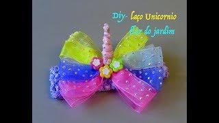 Laço Arco-íris unicórnio – lazo unicornio