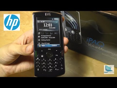 Retro Review: HP iPAQ Voice Messenger Smartphone