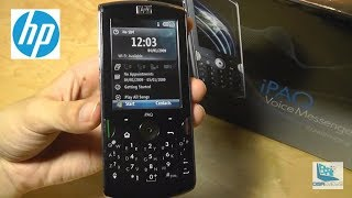 Retro Review HP IPAQ Voice Messenger Smartphone
