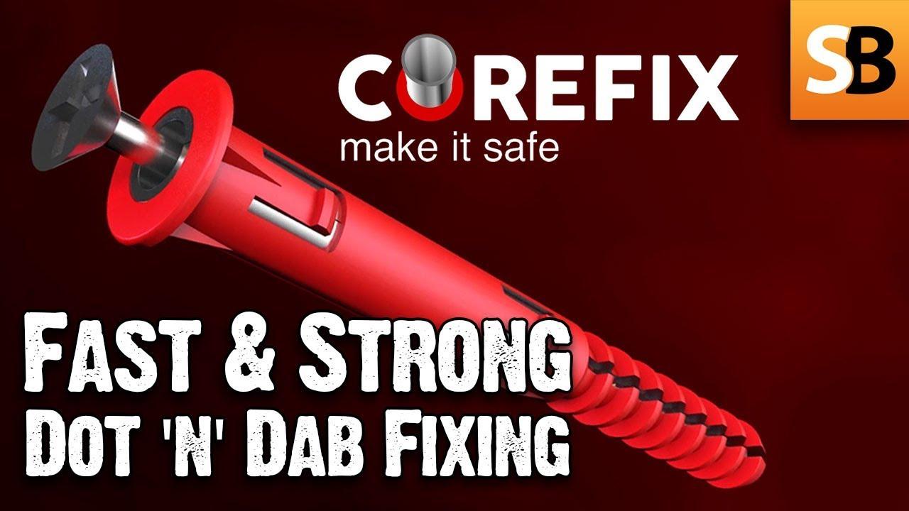 Corefix Dot Dab Wall Fixing Solved Youtube