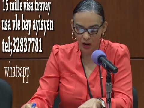 15 mille visa temporaire pour les Haitiens-USA
