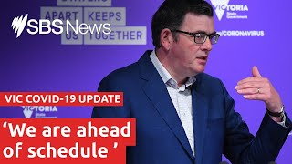COVID-19 update: Victorian Premier Daniel Andrews is live I SBS News