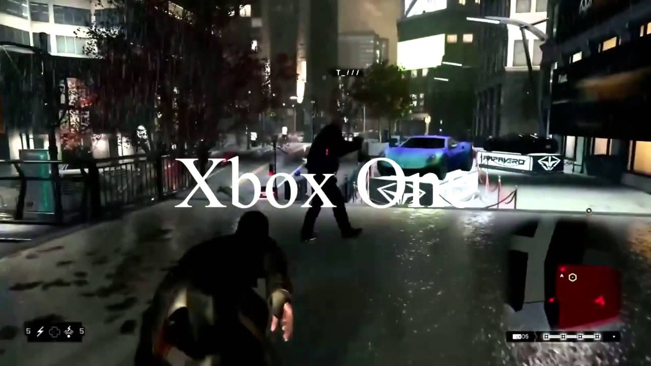 Watch Dogs - Frame Rate Tests | Xbox One VS PS4 - YouTube
