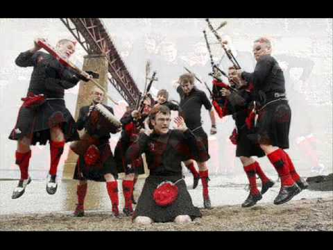 Red Hot Chilli Pipers--Lochanside / The Famous Baravan