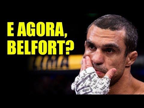 Qual o futuro de Vitor Belfort após o UFC? Bellator? Japão? Aposentadoria?