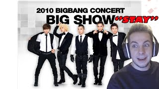 "REACTION TO BIGBANG ""STAY"" (live performance) BIG SHOW"