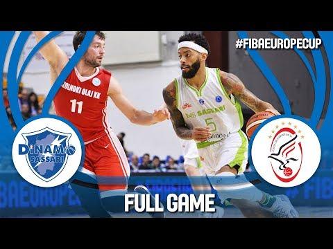 Dinamo Sassari (ITA) v Szolnoki Olaj (HUN) - FIBA Europe Cup 2018-19