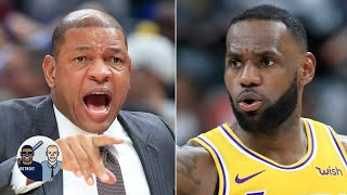 Doc Rivers' comments on LeBron show he doesn't like load management - Jalen Rose | Jalen & Jacoby