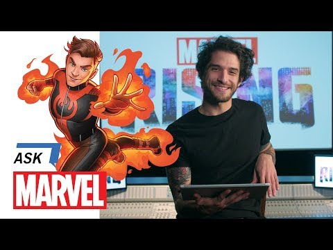 Tyler Posey Answers YOUR Burning Questions! | Ask Marvel