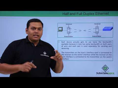 Half and Full Duplex Ethernet