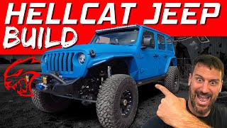 THIS HELLCAT JEEP BUILD IS UNBELIEVABLE!