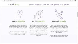 FAIRECO.io - Tài Trợ Đáng Tin Cậy Và Công Bằng Cho Cộng Đồng - ICO Review